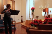 Music before the service begins