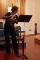 Deborah Saidel plays flute