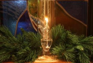 Window oil lamps