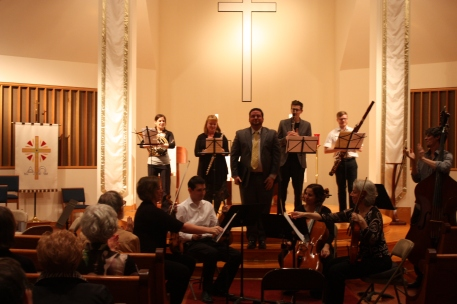 Atlantic Chamber Ensemble with James Peak, soloist, April 2015