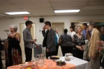 Reception after the Atlantic Chamber Ensemble Concert April 2015