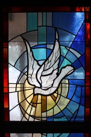 The Holy Spirit dove