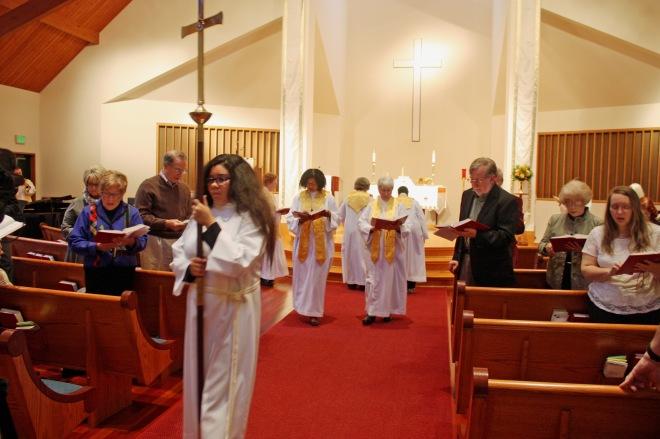 Recessional All Saints Day November 1 2015