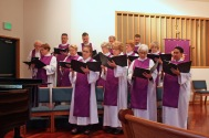 Palm Sunday 2016 Choir 1