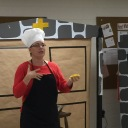 Wittenberg Cafe Chef explains pretzels