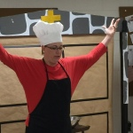 Wittenberg Cafe Chef explains pretzels
